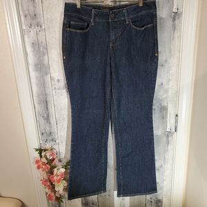 Faded Glory curvy bootcut denim jeans size 10